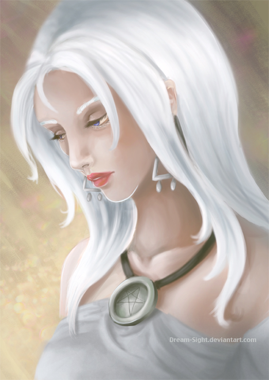 Ishrin from Ishtilnar - Por Marta Morales - ~Dream Sight~: http://dream-sight.deviantart.com