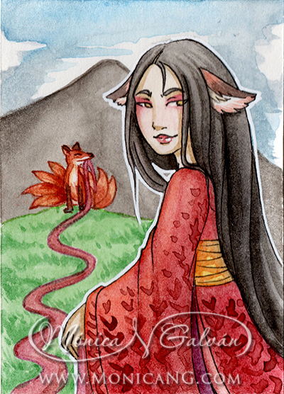 Kitsune of the Silks