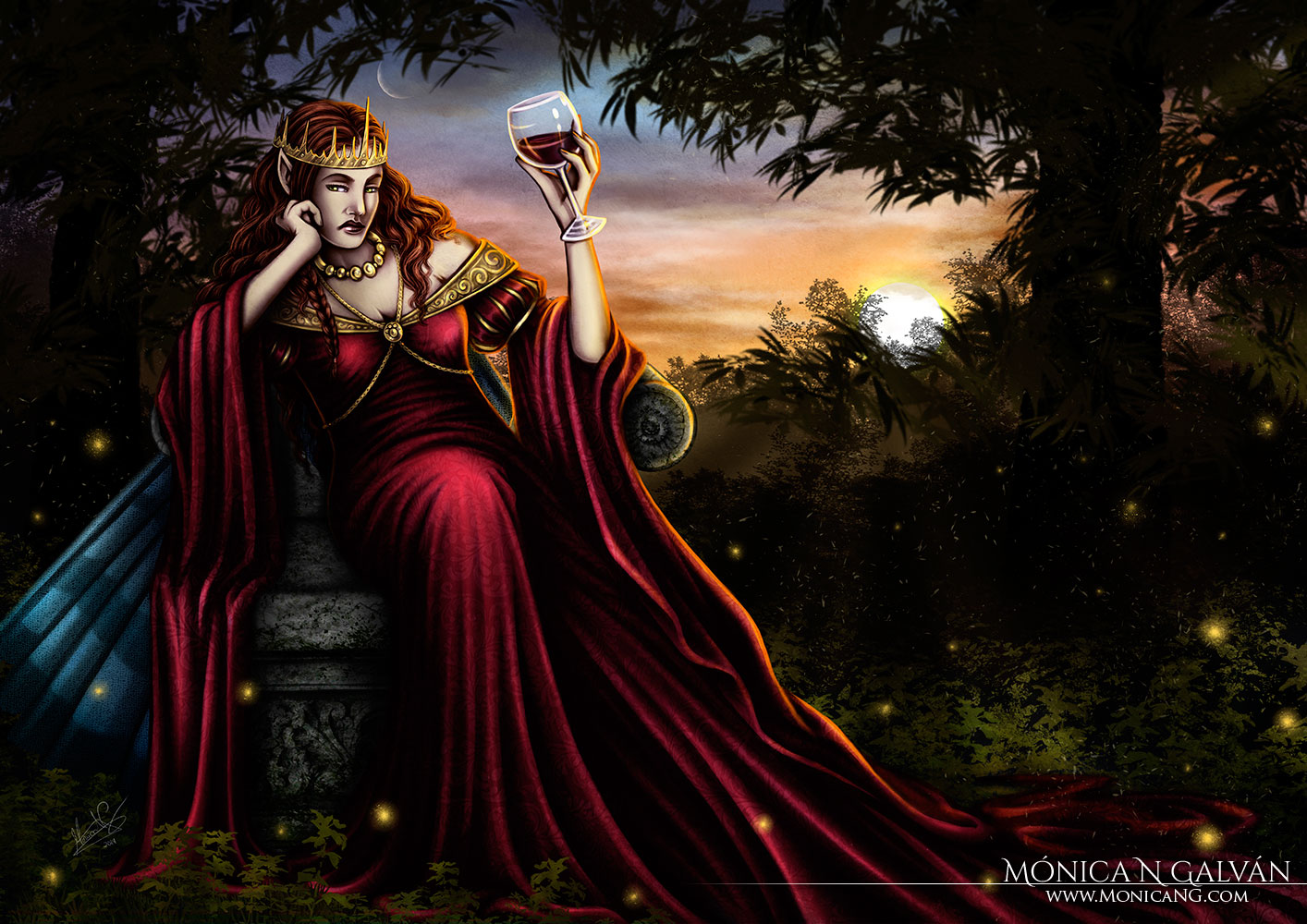 Farian, Queen of the Sidhe – EV Frustration