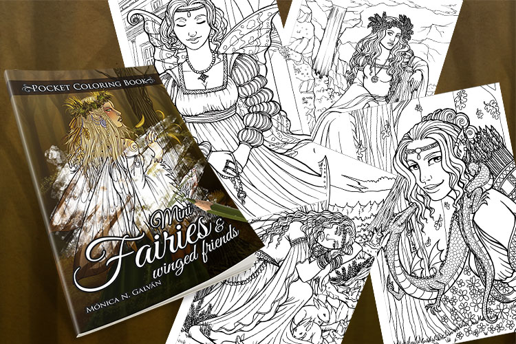 Happy New Year! There Is My New Coloring Book! ⋆ Monica N. Galvan // Author  & Illustrator
