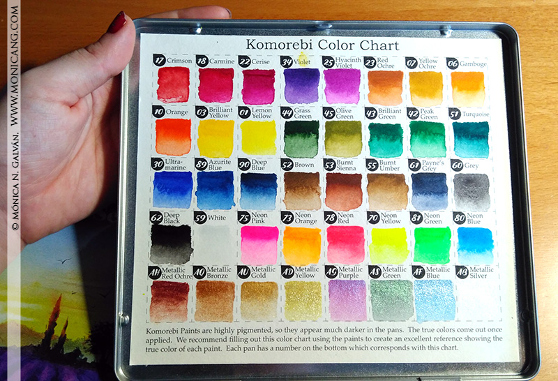 colores komorebi foto