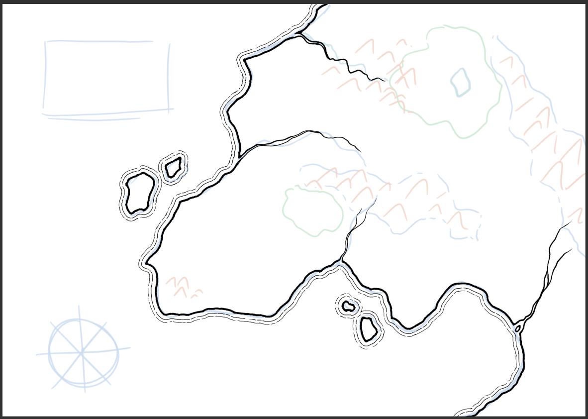 Mapa de fantasía - Paso 2