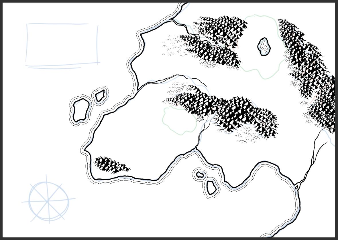 Mapa de fantasía - Paso 3