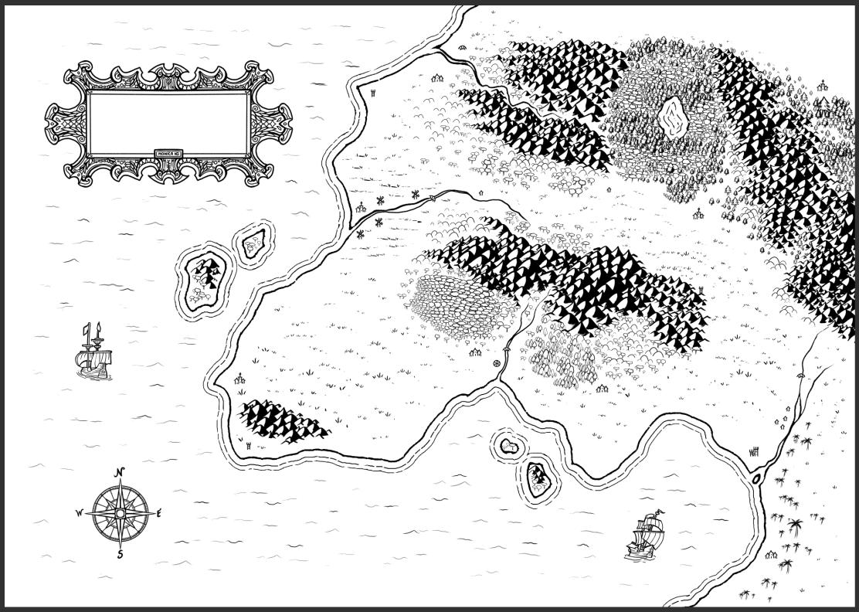 Mapa de fantasía - Paso 7