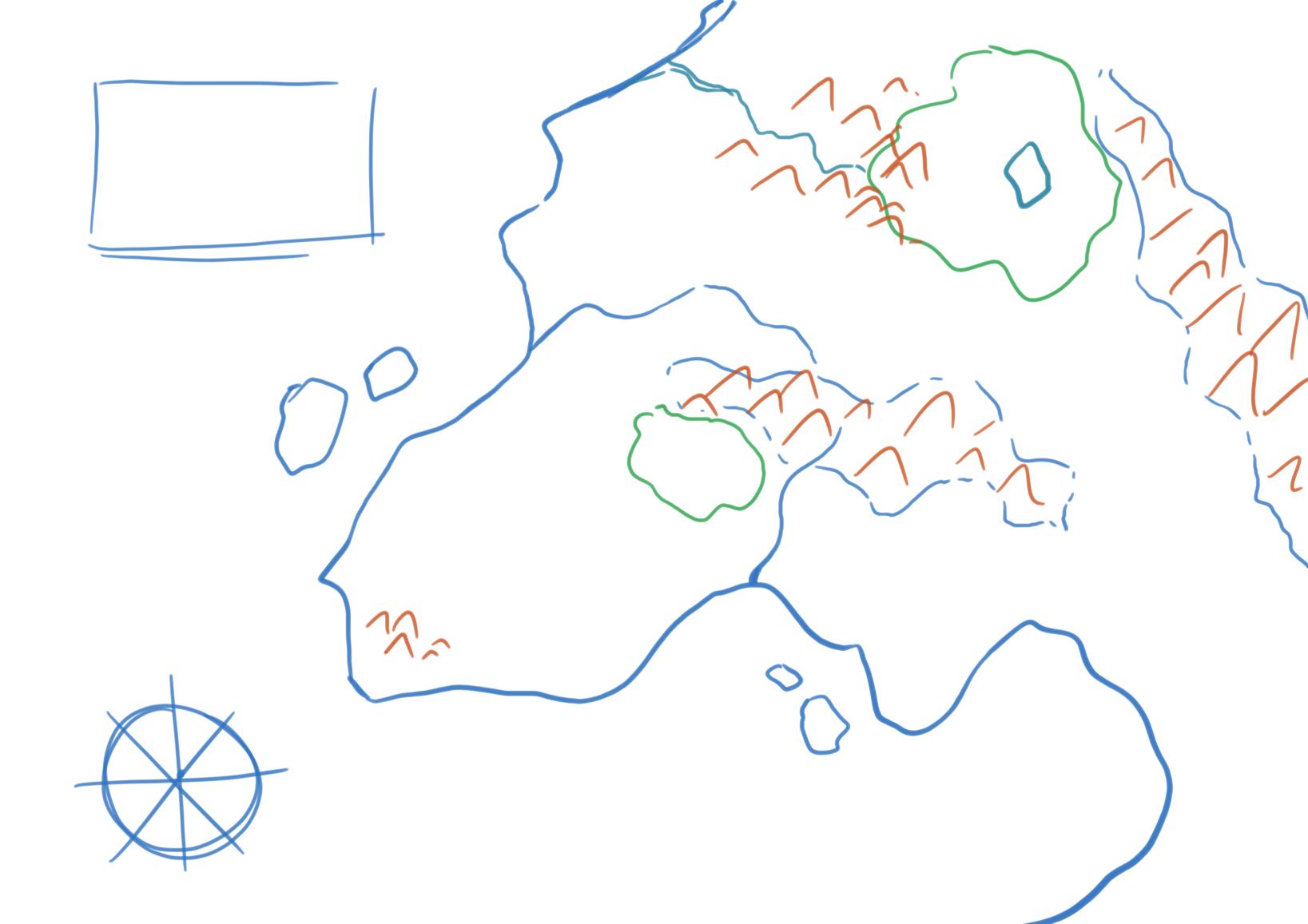 Boceto de nuestro mapa