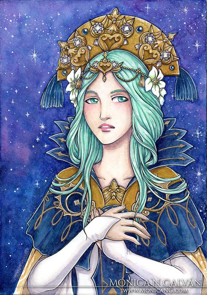 Lady Rhea - Fire Emblem Three Houses
