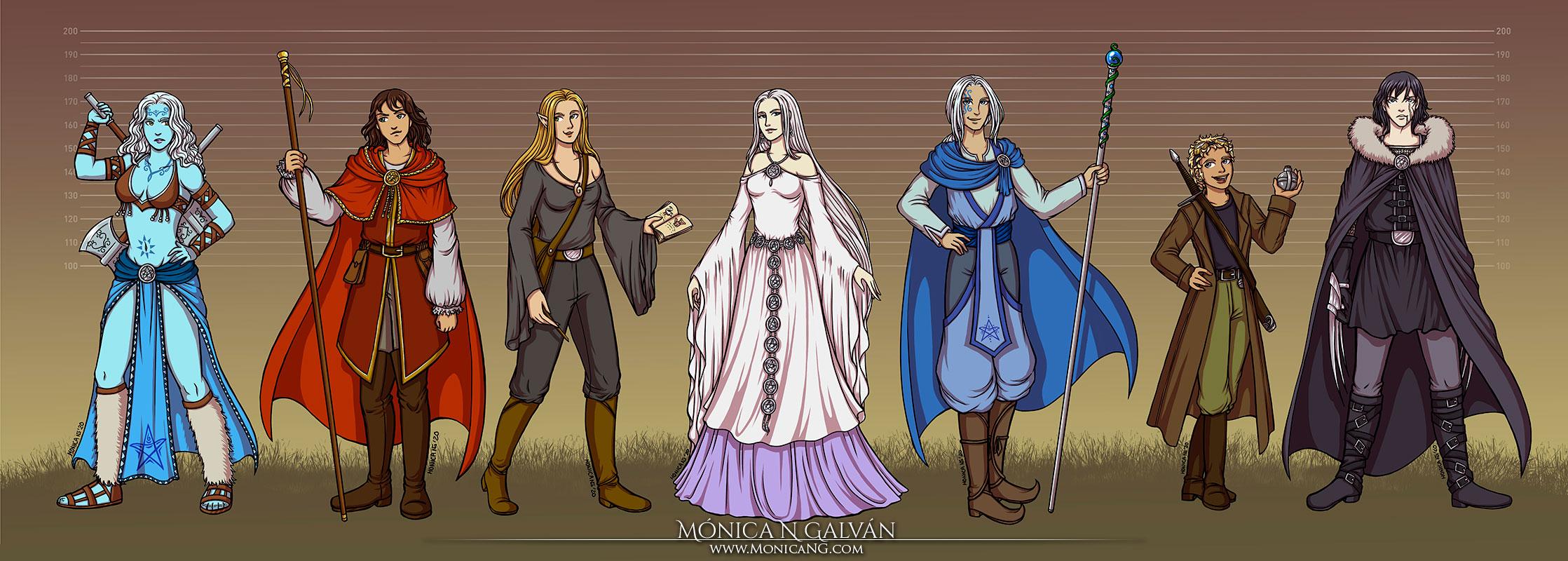 Horror Vacui Character Profiles